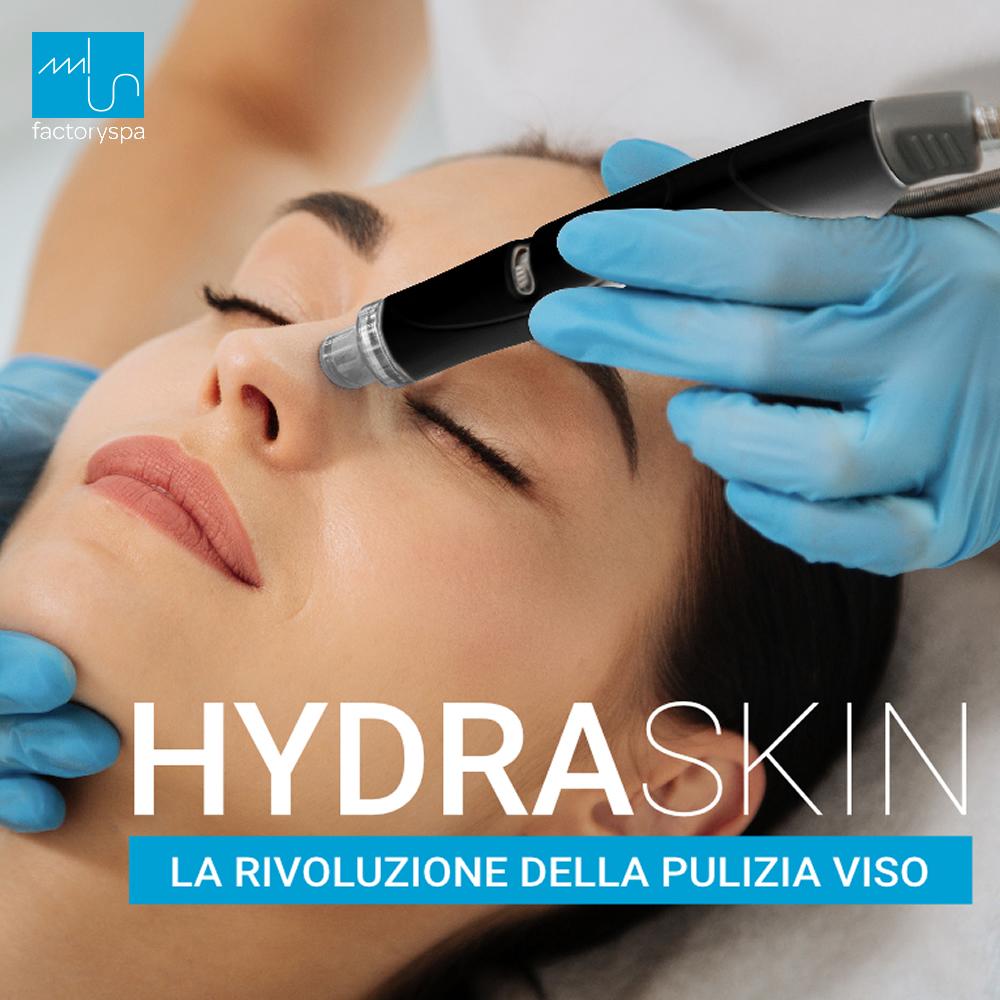 Pulizia del viso con rituale Hydraskin